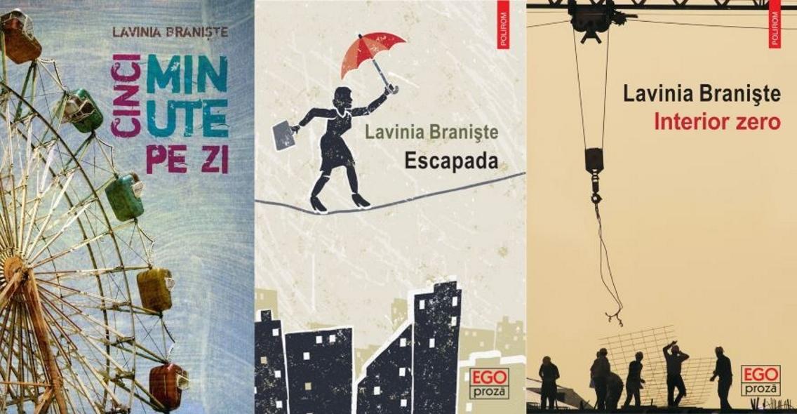 <em>5 minute pe zi</em> |© Casa de pariuri literare; <em>Escapada</em> |© Editura Polirom; <em>Interior zero</em> |© Editura Polirom